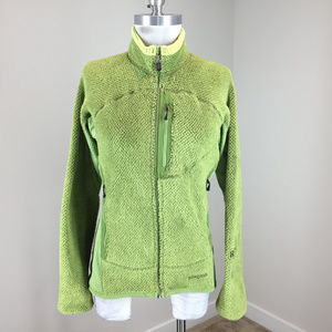 Patagonia Women's S Green Fleece Full Zip jacket